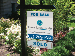 Three Rivers Realty For Sale Sign